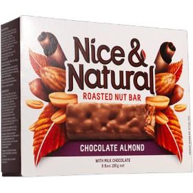 単品販売!ローストナッツバー チョコレート&アーモンド 31gx1本 Chocolate & Almond