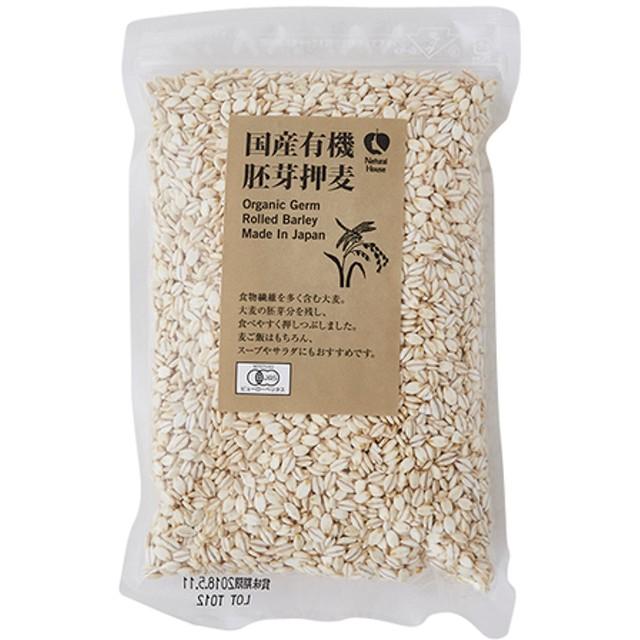 <食物繊維が豊富>有機胚芽押麦
