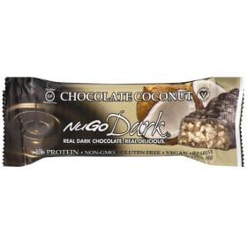 NuGo ダークプロテインバーチョコレートココナッツ