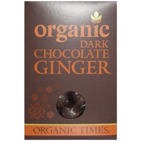 150gx2 Dark Chocolate Ginger ORGANIC TIMES