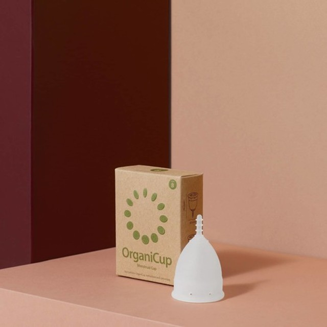 オーガニカップ(月経カップ)(出産未経験用サイズ)