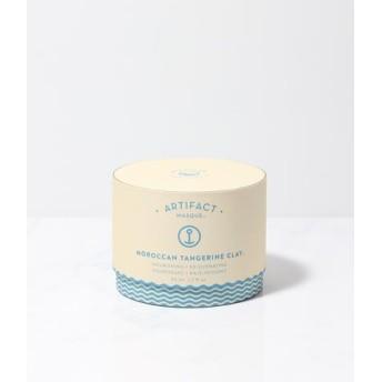 モロッコクレイ&タンジェリン/ノーマル&乾燥肌用・フェイシャルマスク『Artifact/アーティファクト』