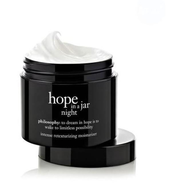 フィロソフィー ホープインアジャー モイスチャライザー 夜用 (Philosophy hope in a jar)
