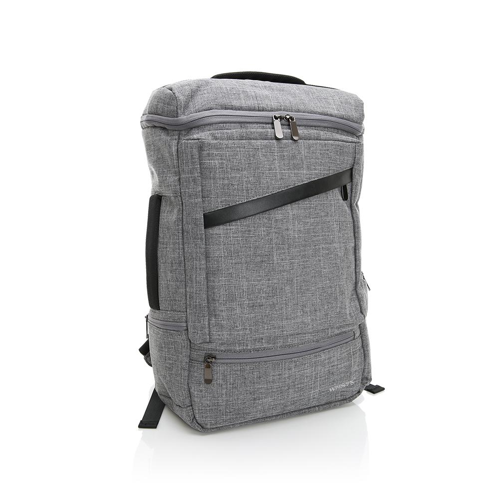 【vensers】 多功能時尚後背包 (S700302淺灰)