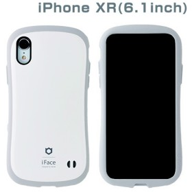 [iPhone XR専用]iFace First Class Pastelケース(ホワイト/グレー) 41-899137