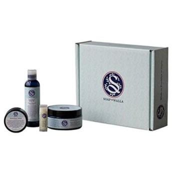 ソープワラ オーガニックボディスパ ギフトセット(Soapwalla Essential Body Spa Gift Set)