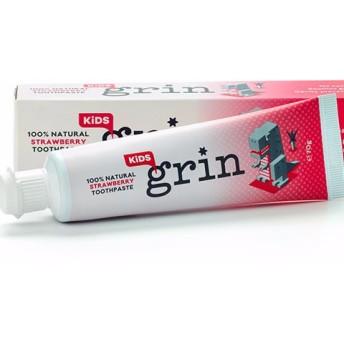 100%ナチュラル 歯磨き粉 キッズ ストロベリー風味
