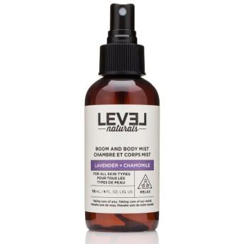 レベルナチュラルズ ラベンダーカモミール ルーム&ボディミスト(Level Naturals Room & Body Mist)