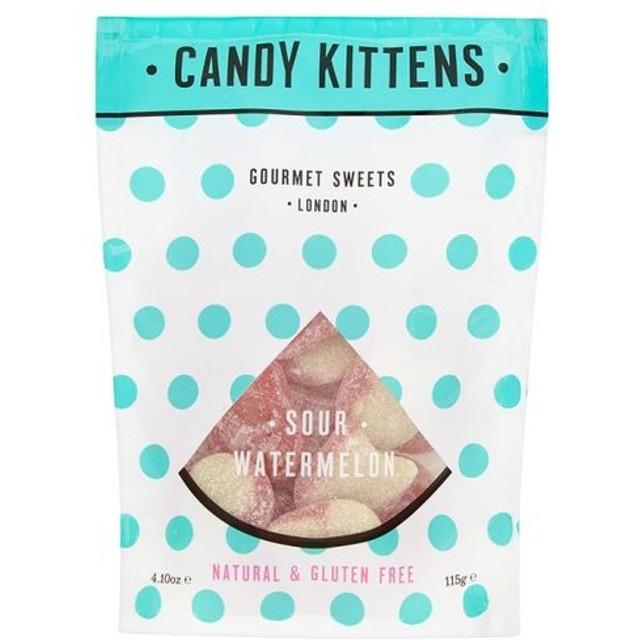 Candy Kittens ウォーターメロン サワー グルテンフリー、ナチュラルグミキャンディー