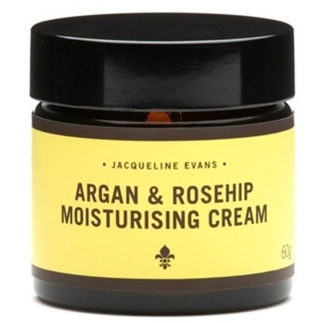 【オーガニック・保湿クリーム】アルガン&ローズヒップ モイスチャライジングクリーム 60g ※乾燥肌向け