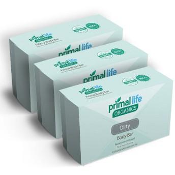 【全6種】プライムライフオーガニクス ボディウォッシュ石鹸 3個セットPrimal Life Organics Body Wash Bar)