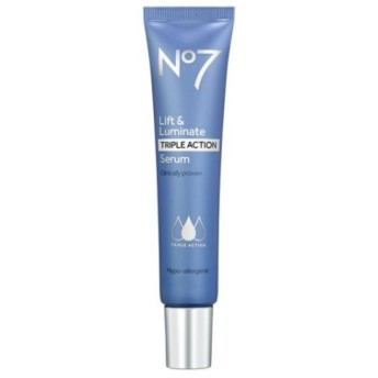 *No7* Lift & Luminate TRIPLE ACTION serum 30ml リフト美容液セラム