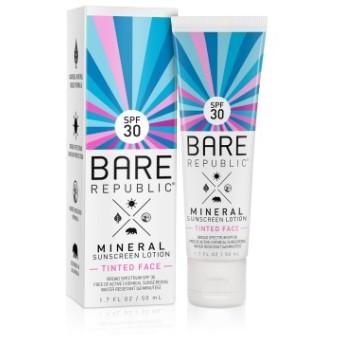 ミネラルSPF30ティントフェイスサンスクリーンローション/MineralSPF30 Tinted Face SunscreenLotion