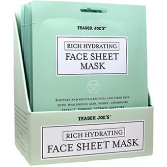 トレーダージョーズ フェイスシートマスク 5枚セット / Trader Joe's Face Sheet Mask