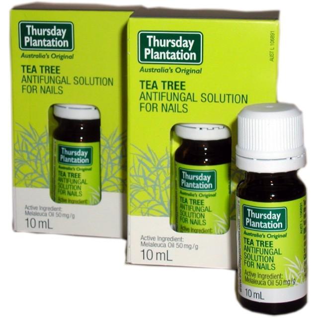 【Thursday plantation】ティーツリー 爪水虫用アンチファンガルソリューション 10ml 2個セット ★ Tea Tree