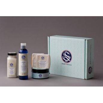 ソープワラ アーモンドラックス ギフトセット(Soapwalla Almond Luxe Gift Set)