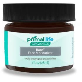 プライムライフオーガニクス ベアフェイスモイスチャライザー (Primal Life Organics )