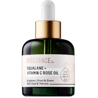 ビオッサンス スクワラン+ビタミンCローズオイル (Biossance Squalane + Vitamin C Rose Oil)