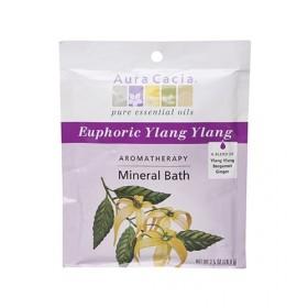オーラカシア イランイランミネラルバス 3個セット (Aura Cacia Ylang Ylang Mineral Bath)