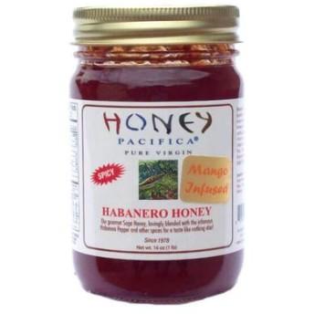 ハニーパシフィカ マンゴーハバネロハニー 蜂蜜 (Mango Flavored Habanero Honey)