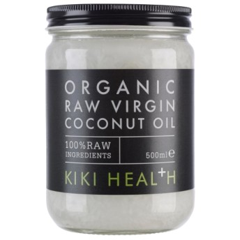 Kiki Health オーガニック RAW バージン ココナッツオイル 100% RAW
