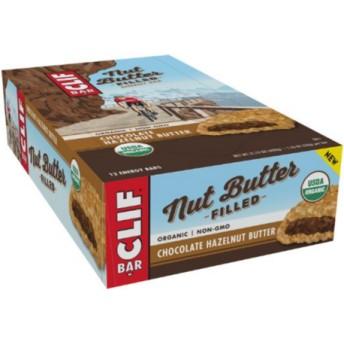 日本未発売味 USDA認証 クリフバー オーガニックチョコレートヘーゼルナッツバター 12本 (CLIF BAR ORGANIC)