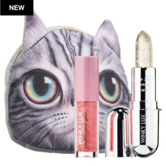 ウィンキーラックス リップグロス&リップバームキット (WINKY LUX Lip Gloss + Balm Kit)