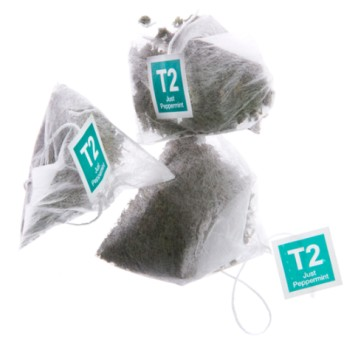 T2 ペパーミント ティーバッグ25個入り Just Peppermint Teabag Gift Cube