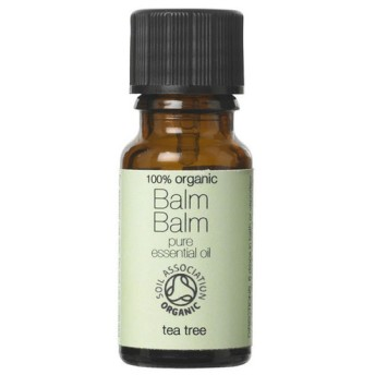 Balm Balm 100%ピュア オーガニック エッセンシャルオイル Tea Tree 10ml x 2セット