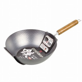 軽くてサビにくい鉄のいため鍋27cm<br>[HB-4290]<br>[日本製]<br>