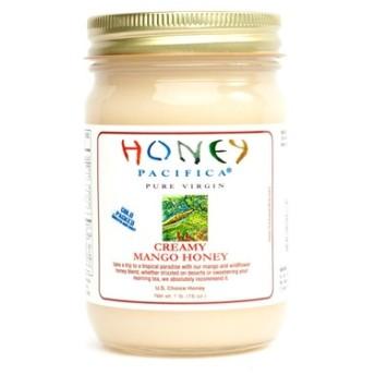 ハニーパシフィカ クリーミーマンゴーハニー 蜂蜜 ( HONEY PACIFICA Flavored Creamy Mango Honey)