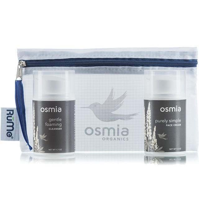 敏感肌用スターターセット/ジェントル・フォーミング・クレンザー&ピュアリー・シンプル・ファイス・クリーム『 Osmia Organics』