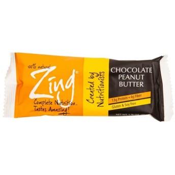 Zing ダークチョコレートピーナッツバター栄養バー