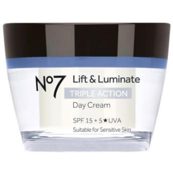 *No7* Lift & Luminate Triple Action Day Cream SPF15 デイクリーム