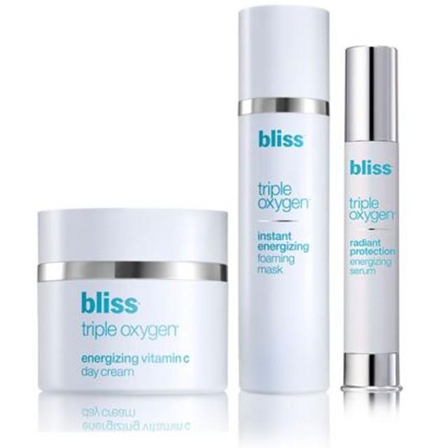 ブリス トリプルオキシ スキンケアセット (bliss triple oxygen Clarify Protect Revitalize)