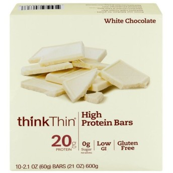 ThinkThin ハイプロテインバー ホワイトチョコレート 10CT