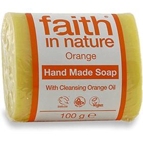 フェイス イン ネーチャー 100% Natural オーガニック オレンジ ハンドメイド ソープ