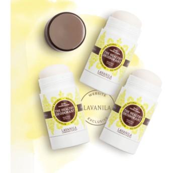 ラヴァニラ アルミニウム未使用デオドラント バニラレモン x3 (LAVANILA Fresh Vanilla Lemon Deo)