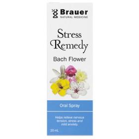 送料込みBrauer(20ml)ストレスレメディ バッチフラワー オーラルスプレー20ml