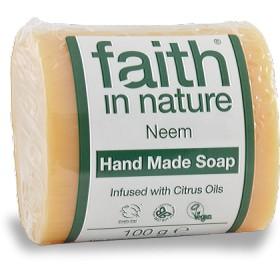 フェイス イン ネーチャー 100% Natural オーガニック ニーム ハンドメイド ソープ