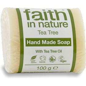 フェイス イン ネーチャー 100% Natural オーガニック Tea Tree オイル ハンドメイド ソープ
