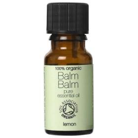 Balm Balm 100%ピュア オーガニック エッセンシャルオイル レモン 10ml x 2セット