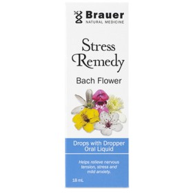 送料込みBrauer(18ml)ストレスレメディ バッチフラワー フラワードロップ 18ml