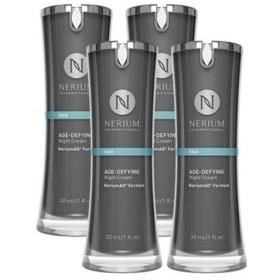アメリカ製ネリウム エイジディファイング ナイトクリーム4個セット Nerium Age-Defying Night Cream Neriu