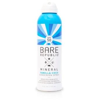 ミネラルSPF50サンスクリーンスプレー177ml / Mineral SPF50 Sunscreen SprayVanilla-Coco