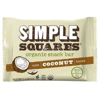 SIMPLE Squares ココナッツオーガニック栄養バー
