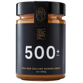 <風邪のひきはじめに>トゥルー マヌカハニー MGO 500+ 400g