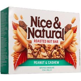 ローストナッツバー ピーナッツ&カシュー 31gx12本 Peanut & Cashew