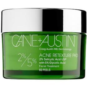ケイン + オースティン アクネ リテクスチャーパッド 5%/2%(Acne Retexture Pads 5%/2%)