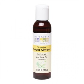 オーラカシア スイートアーモンドスキンケアオイル(Aura Cacia Sweet Almond Skin Care Oil)
